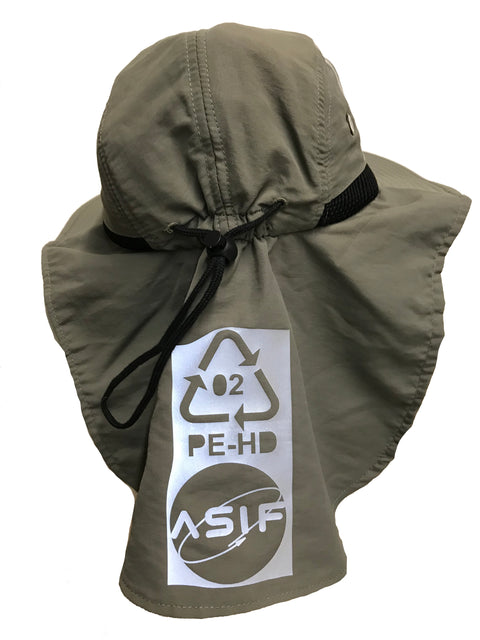 ASIF Bucket Flap Hat - Olive - ASIF (as seen in the future)