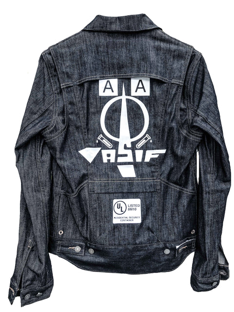 ASIF Dark Denim Jacket - ASIF (as seen in the future)