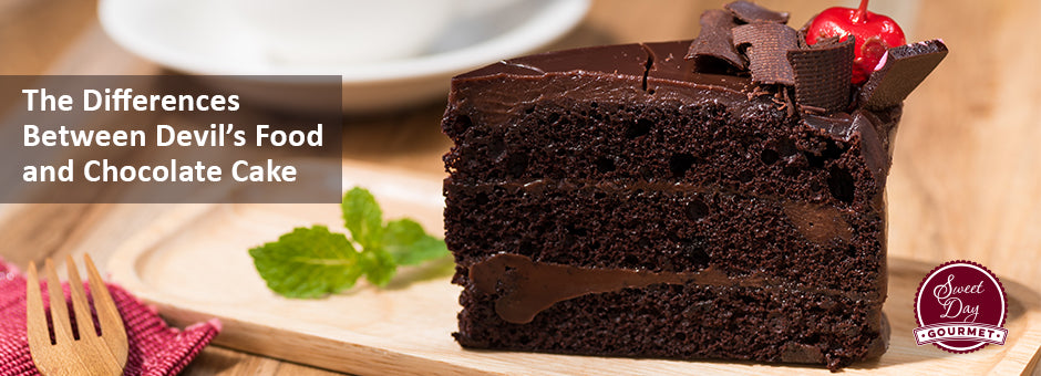 The Differences Between Devil's Food Cake and Chocolate Cake