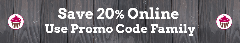 Save 20% online Use Promo Code Family
