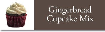 gingerbread cupcake with vanilla bean frosting