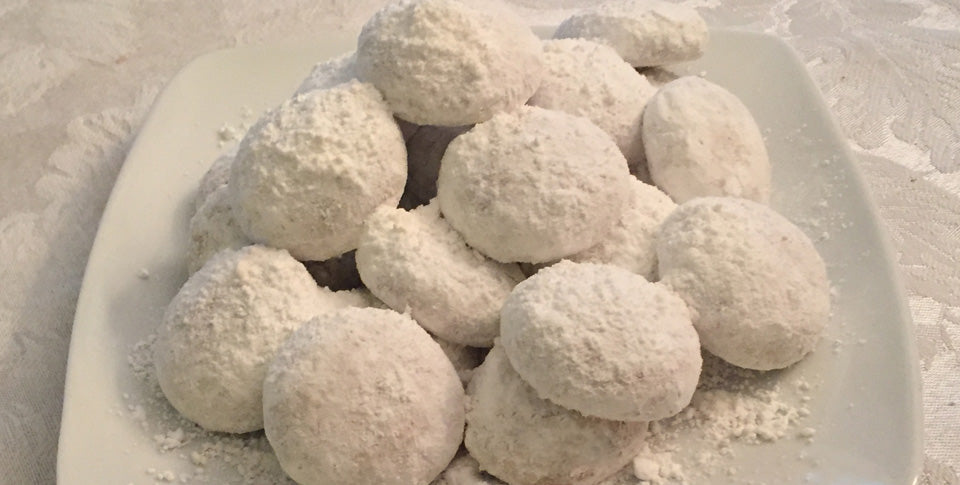 Kourambiethes Greek Snowball Cookies