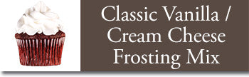 classic vanilla/ cream cheese frosting instructions