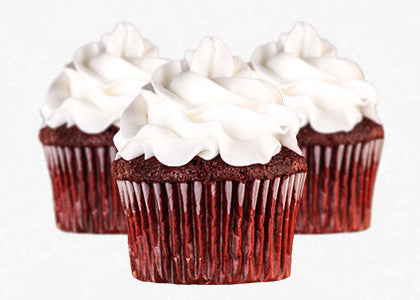 Red Velvet Cupcake Mix with Vanilla Frosting