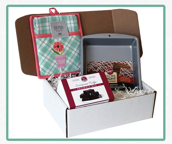 Brownie Baking Box