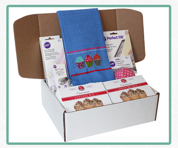 Baking Box - Cinnamon Cupcake Kit