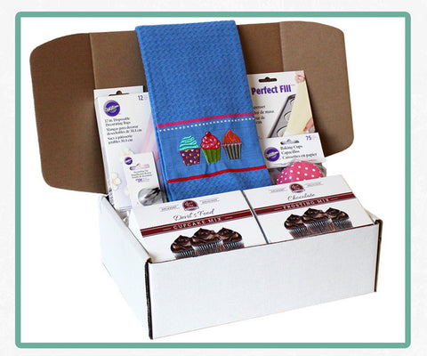 Baking Box - Chocolate Cupcake Kit