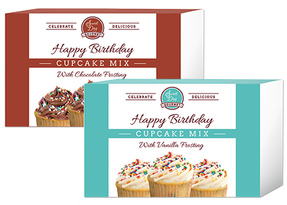 Happy Birthday Cupcake Mix Gift Set