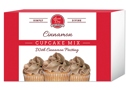 Cinnamon Cupcake mix with Cinnamon Frosting