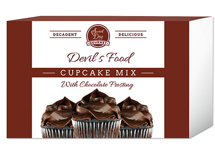 Devil's Food Cupcake and Frosting Mix