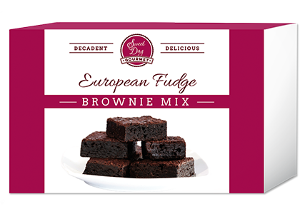 European Fudge Brownie Mix