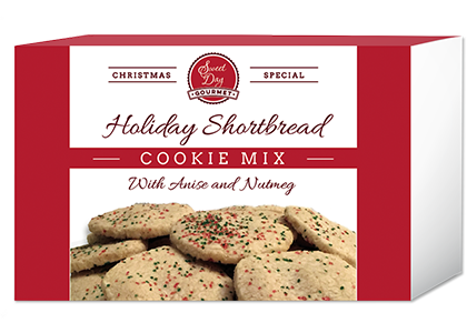 Holiday Shortbread Cookie Mix with Anise
