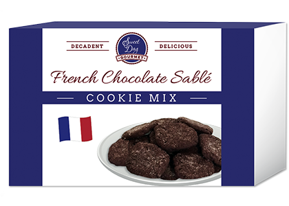 French Chocolate Sable Cookie Mix