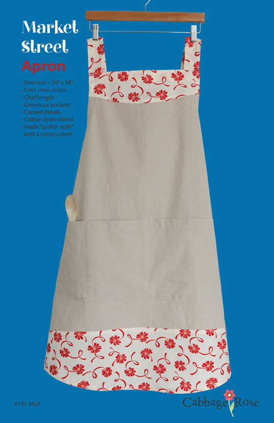 Market Street Apron - downloadable PDF pattern