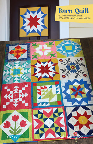 Barn Quilt - downloadable PDF pattern