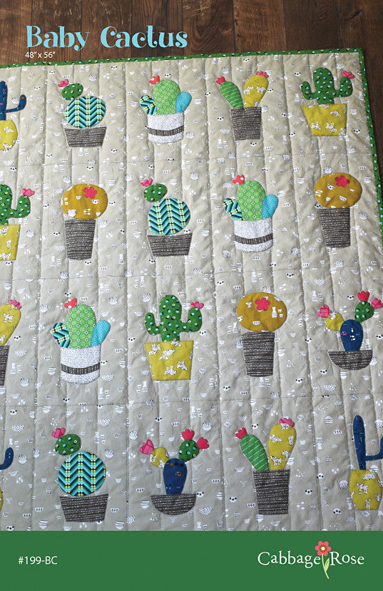 Baby Cactus - downloadable PDF pattern