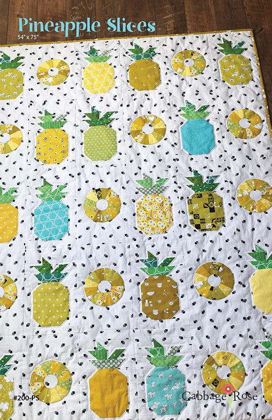 Pineapple Slices – downloadable PDF pattern