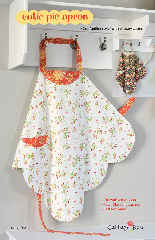 Cutie Pie Apron – downloadable PDF pattern