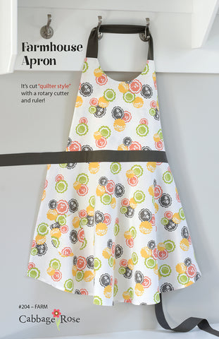 Farmhouse Apron – Printed Pattern