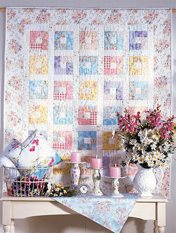 Button Box Quilt - downloadable PDF pattern