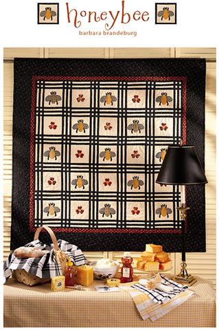 Honeybee Quilt - downloadable PDF pattern