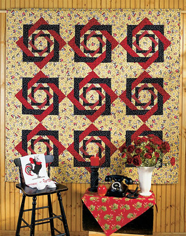 Double Twist Quilt - Printed Pattern