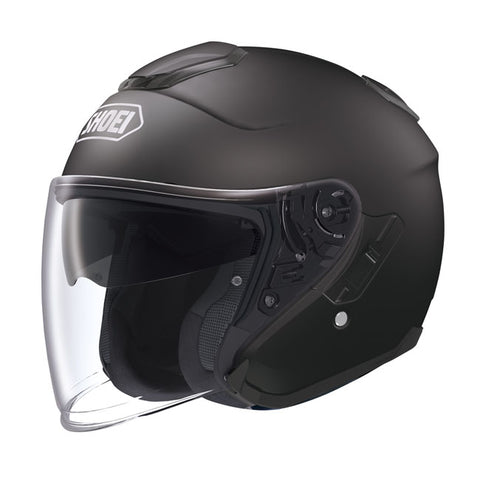 Shoei J-Cruise Open Face Helmet - Matt Black