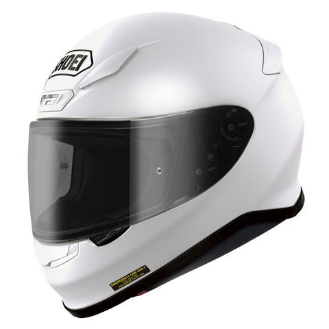 Shoei NXR Full Face Helmet - White *+Free Tinted Visor*