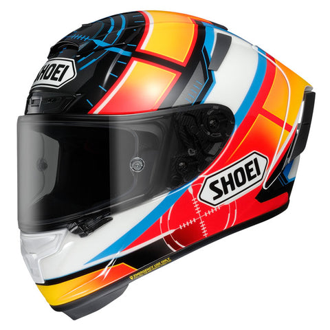 Shoei X Spirit III De Angelis TC-1 Helmet