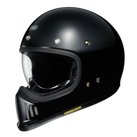 Shoei Ex- Zero Motorcycle Helmet - Black