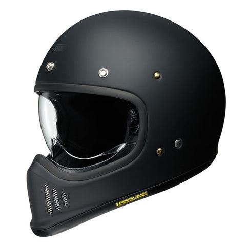Shoei Ex- Zero Motorcycle Helmet -  Matt Black