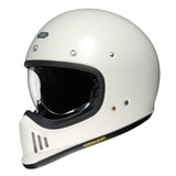 Shoei Ex- Zero Motorcycle Helmet -  Off White