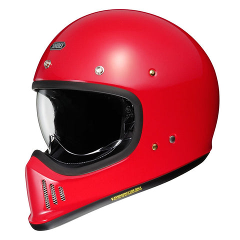 Shoei Ex- Zero Motorcycle Helmet - Shine Red