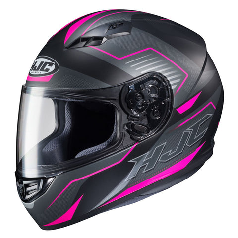 HJC CS-15 Trion MC-8SF Motorcycle Helmet - Black/Pink