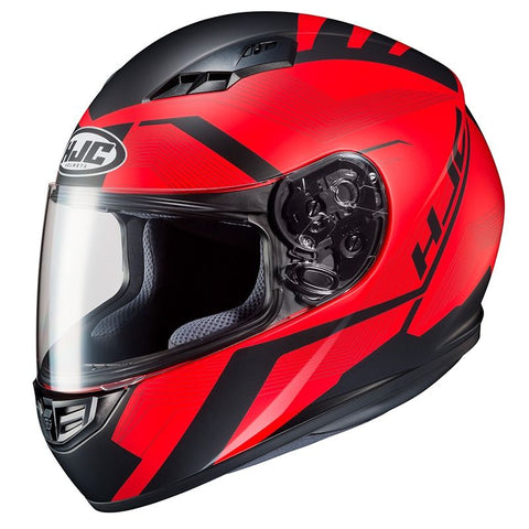 HJC CS-15 Faren MC-1SF Motorcycle Helmet - Red
