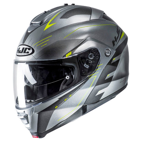 HJC IS-Max II Cormi MC-4H Motorcycle Helmet - Silver/Grey