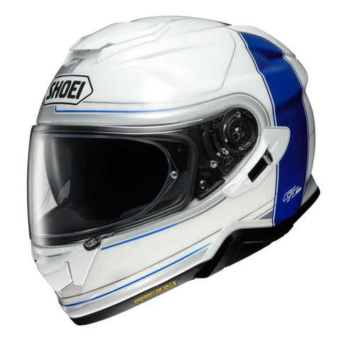 Shoei GT-Air II Crossbar TC-2 Motorcycle Helmet - Blue