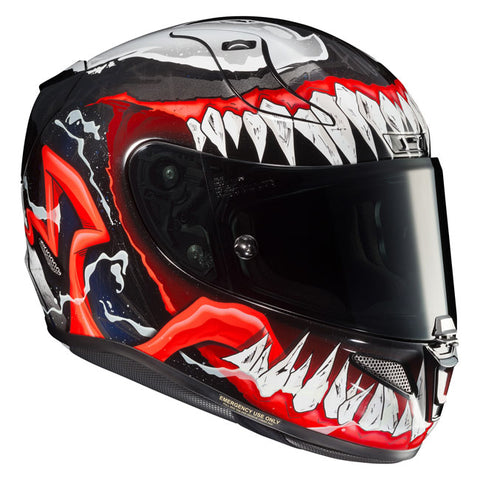 HJC RPHA-11 Venom 2 Marvel MC-1 Motorcycle Helmet - Blue/Red/White