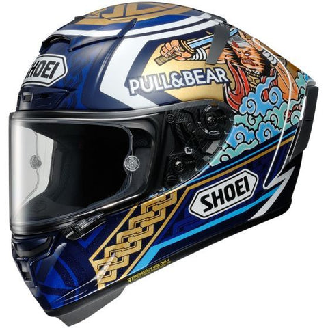 Shoei X-Spirit III Marquez Motegi 3 TC-2 Motorcycle Helmet