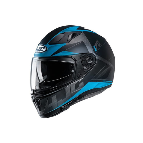 HJC I70 Eluma MC-2SF Motorcycle Helmet - Blue/Black