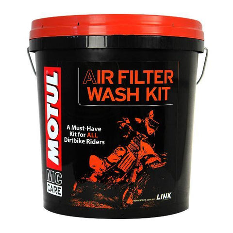 Motul Air Filter Wash Kit Motocross Dirt Bike