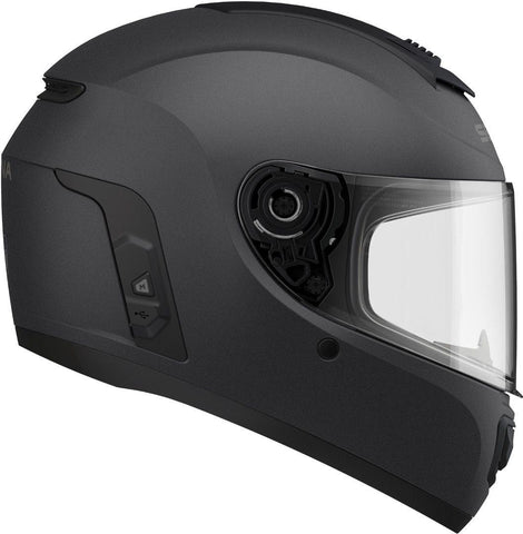 Sena Momentum Evo Bluetooth-Integrated Helmet - Matte Black