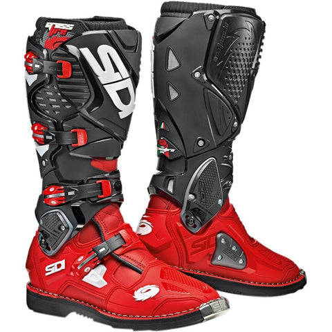 Sidi Crossfire 3 Motorcycle Boots - Red/Red/Black