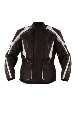 RST Rallye Adventure Jacket Black/Silver