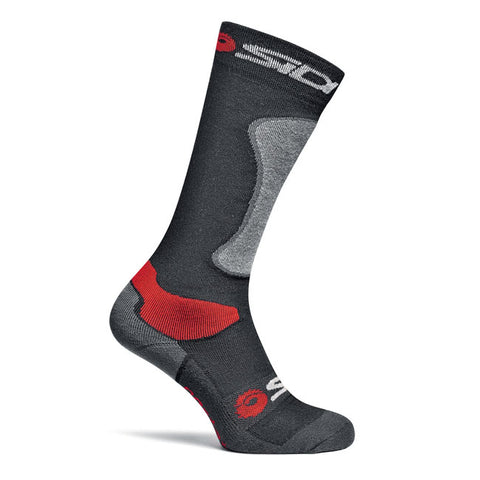 SIDI Tech Road Casual Socks - Black/Grey