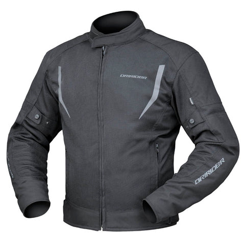 Dririder Breeze Men's Motorcycle Jacket - Black