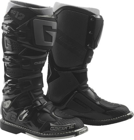 Gaerne SG-12 Off Road Motorcycle Boots - Black/Grey