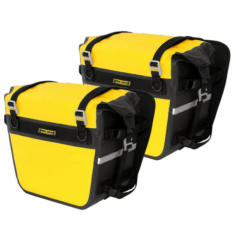 Nelson-Rigg SE-3050 Saddlebags 27.5L Deluxe Dry - Yellow