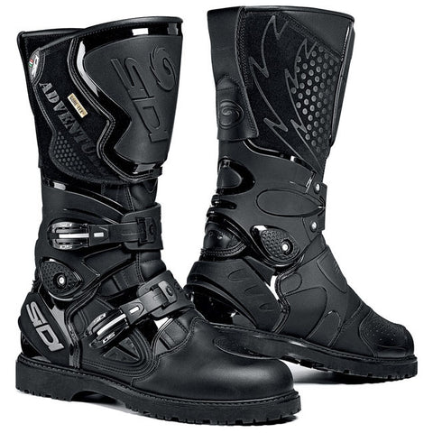 Sidi Adventure Gore-Tex Motorcycle Boots - Black