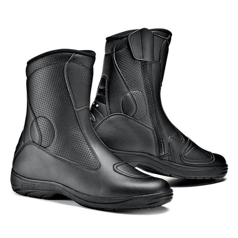 Sidi Traffic Air Motorcycle Boots - Black